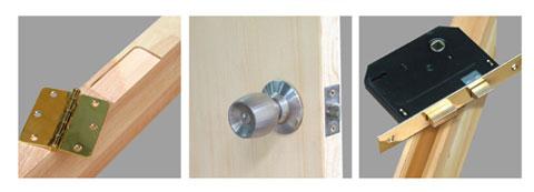 Door Lock Installation Mortising Jig Tool Kit Set