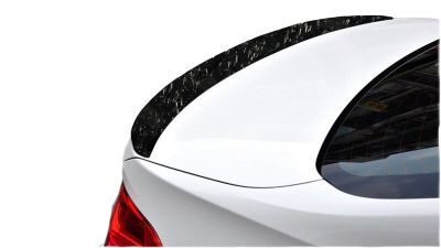 Forged Carbon Fiber Rear Trunk Lip Lid Boot Spoiler Wing For BMW F30 Performance