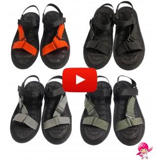 AC Rabbit Flat Sandals Air Cushion Breathable Non-Slip Soft Support Sandals Washable