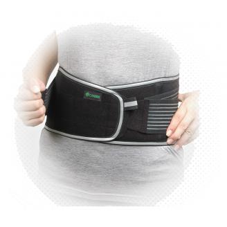 COMDS 3M Scotchlite Visibility Reflective Spine Lower Back Brace Lumbar Waist Support